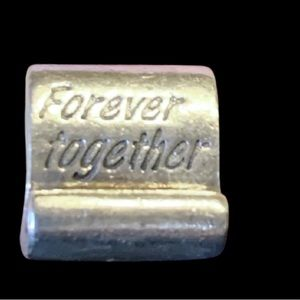 Pandora Forever Together Scroll RETIRED EUC